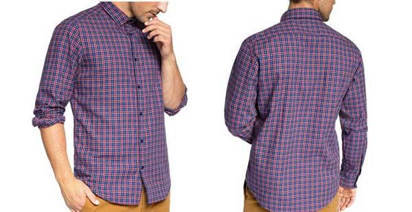camisas edc esprit kariert baratas