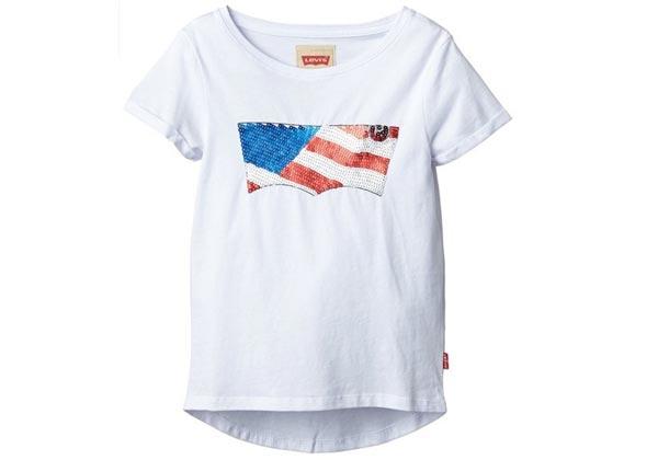 camiseta niña levis alize barata