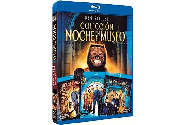 coleccion noche en el museo bluray barata descuento amazon cine