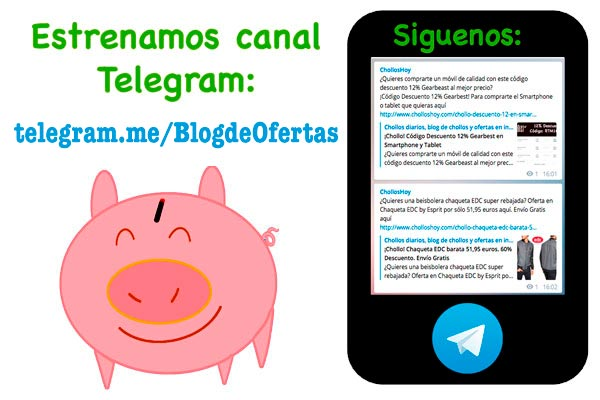 canal telegram blogdeofertas chollos