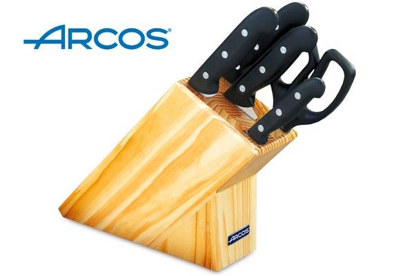 juego cuchillos arcos maitre baratos