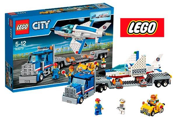 lego transporte del reactor de entrenamiento barato descuento 60079 nave espacial lego city