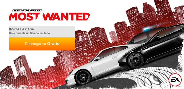 Chollo need for speed most wanted gratis en origin for Juego nfs most wanted