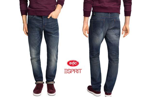 pantalones vaqueros edc by esprit