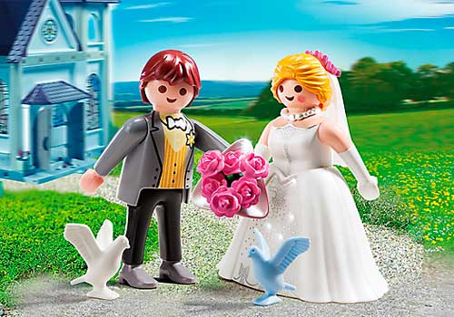 playmobil novios de boda baratos