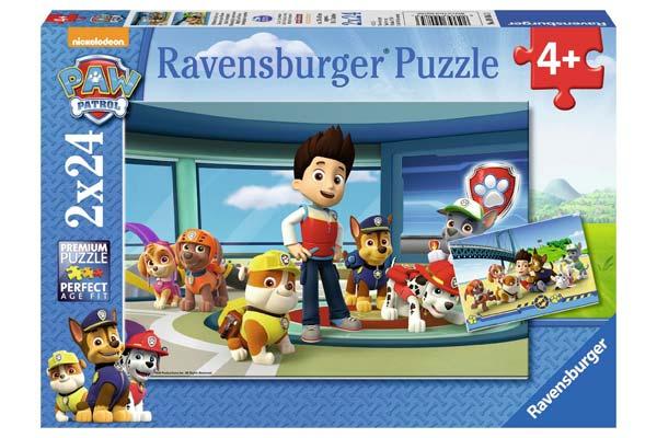 2 Puzzles Patrulla Canina Ravensburger baratos