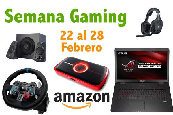 semana gaming en amazon ofertas en informatica electronica ofertas baratas