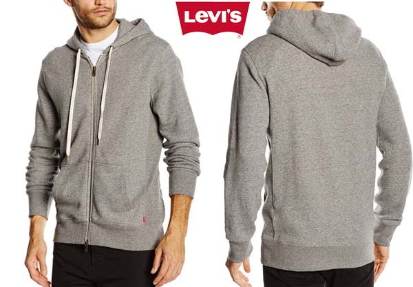 sudadera levis original zip up barata