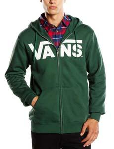 sudadera vans vans classic zip hoodie
