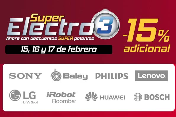 super electro 3 el corte ingles marca electrodomesticos informatica electronica barata
