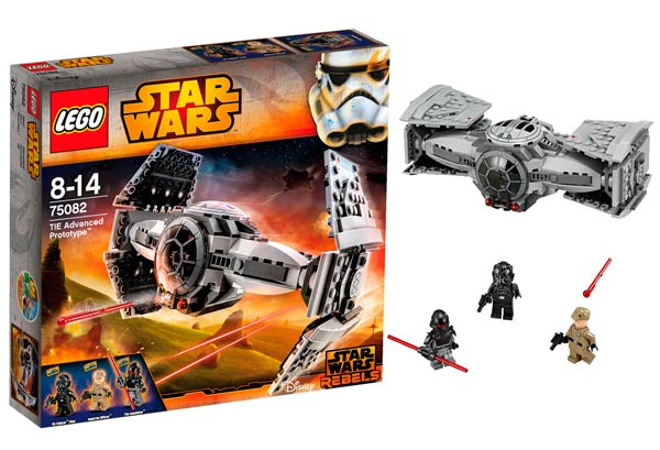 lego star war tie advanced prototype
