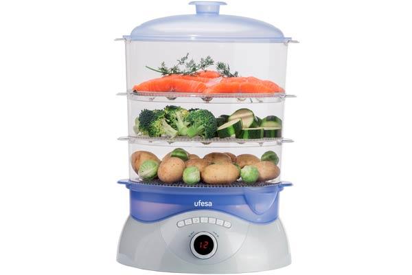vaporera ufesa cv300 barata comida saludable