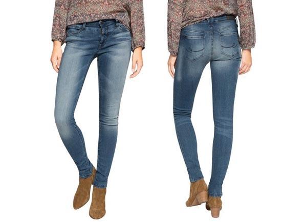 pantalones vaqueros edc by esprit figur formend baratos