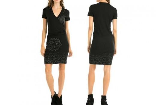 vestido desigual cintia barato