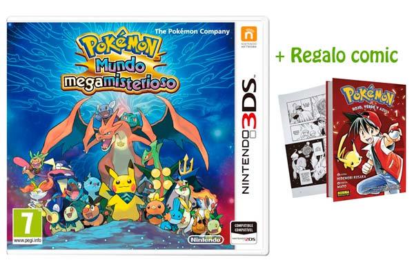 Pokemon Mundo Megamisterioso + Comic barato