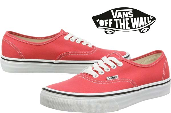 zapatillas vans u authentic rojas baratas