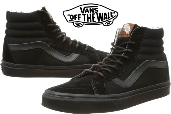 vans negras mujer chile