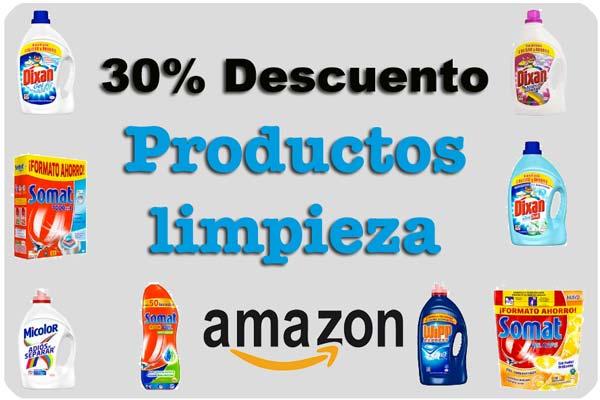30 descuento productos limpieza amazon barato rebajas supermercado