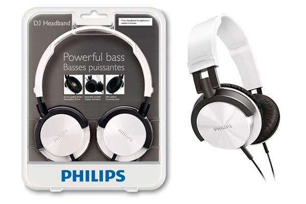 auriculares philips shl 3000WT baratos descuento rebajas electronica
