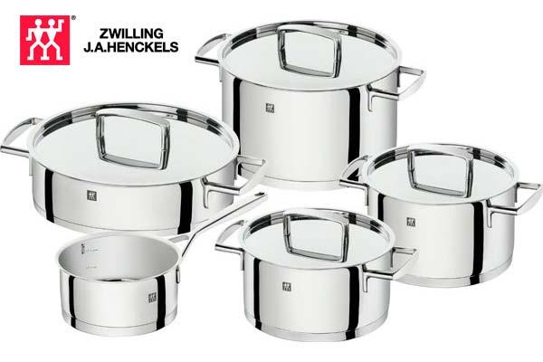bateria de cocina 5 piezas zwilling passion barata