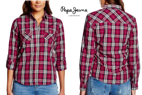 camisa pepe jeans mimi