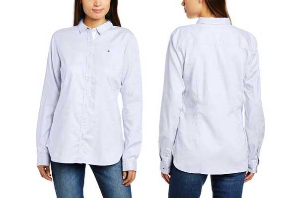 camisa tommy hilfiger jenna barata descuento rebajas moda