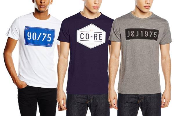 camisetas jack & jones baratas desde 5 euros rebajas plan renove