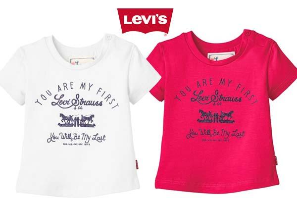 camiseta levis de niña