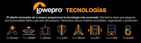 lowepro pro runner 200 tecnologia