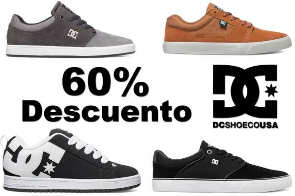 descuento zapatillas dc shoes baratas rebajas descuento tienda oficial moda complementos