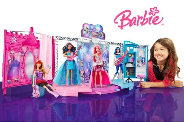 escenario barbie