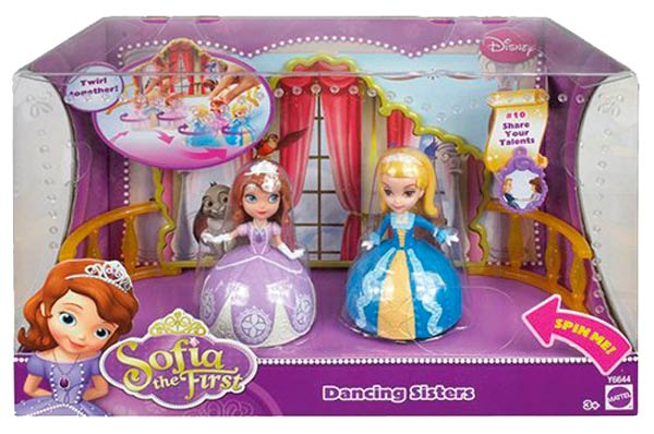 hermanitas bailarinas princesas disney