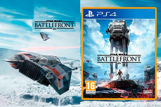 Juego Ps4 Star Wars Battlefront Barato En Amazon Estreno Reserva