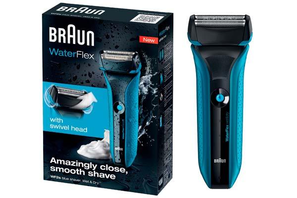 maquinilla afeitar braun waterflex wf2s barata descuento rebajas salud y belleza