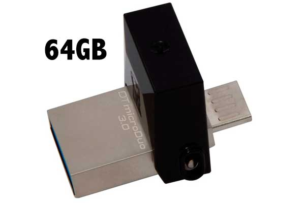 memoria usb kingston dtduo 64gb barata