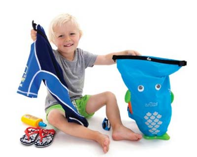 mochila trunki pez azul