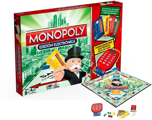 monopoly electronico hasbro