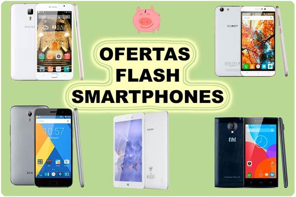Ofertas Flash Smartphones de Hoy
