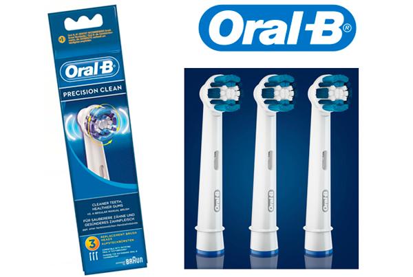 oral-b cabezal de recambio 3