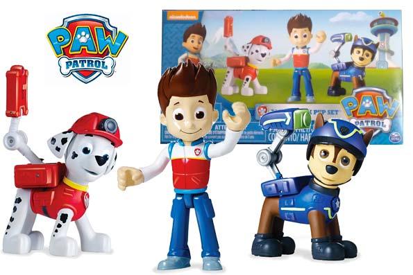 figuras patrulla canina baratas descuento rebajas juguetes paw patrol pack accion