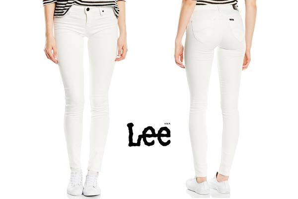 pantalon blanco lee toxey