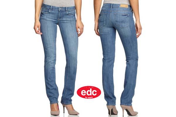 pantalon edc five straight barato descuento rebajas moda slim