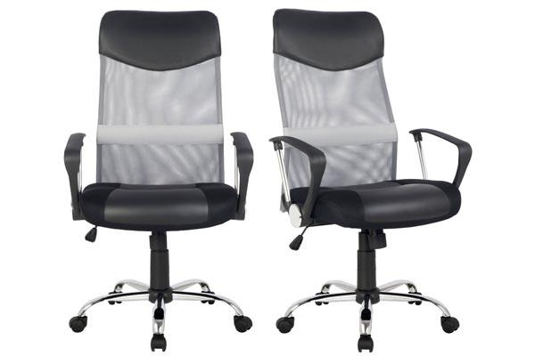 Chollo silla de escritorio sixbros barata 50 euros for Oferta silla escritorio