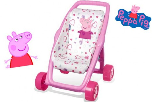 silla para muñecas peppa pig barata