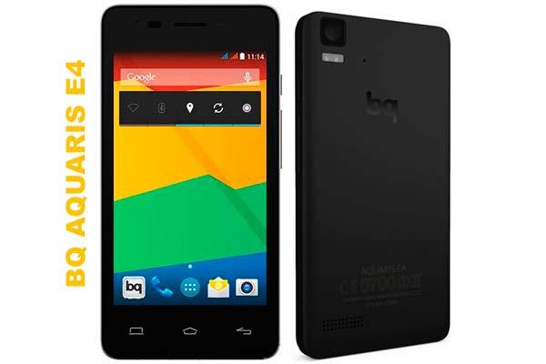 smartphone bq aquaris e4 barato