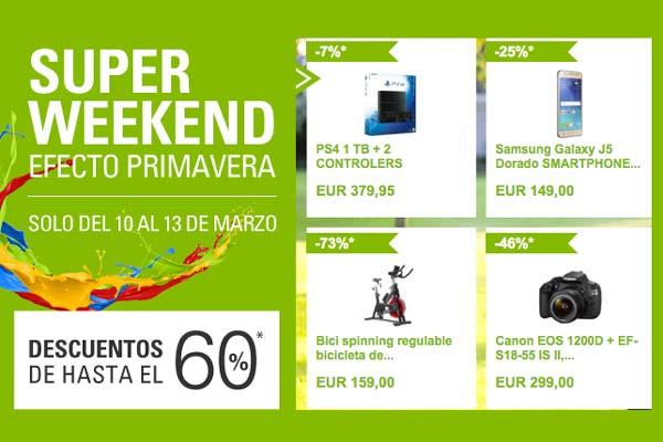 super weekend en ebay productos baratos descuentos y mucho más