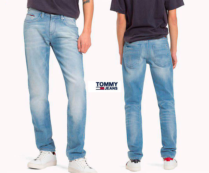 pantalones vaqueros tommy jeans scanton baratos
