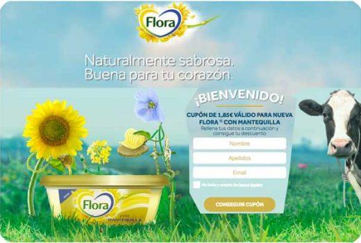 nueva mantequilla flora gratis cupon descuento