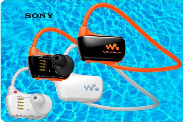 auriculares reproductor mp3 acuaticos sony nwz w273 baratos descuento
