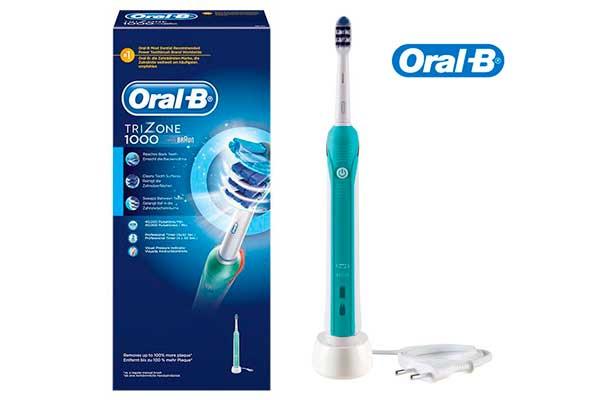 cepillo de diente electrico braun oral-b trizone 1000 barato descuento rebajas